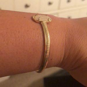 Kendra Scott Jewelry - Kendra Scott gold bracelet with white sparkle